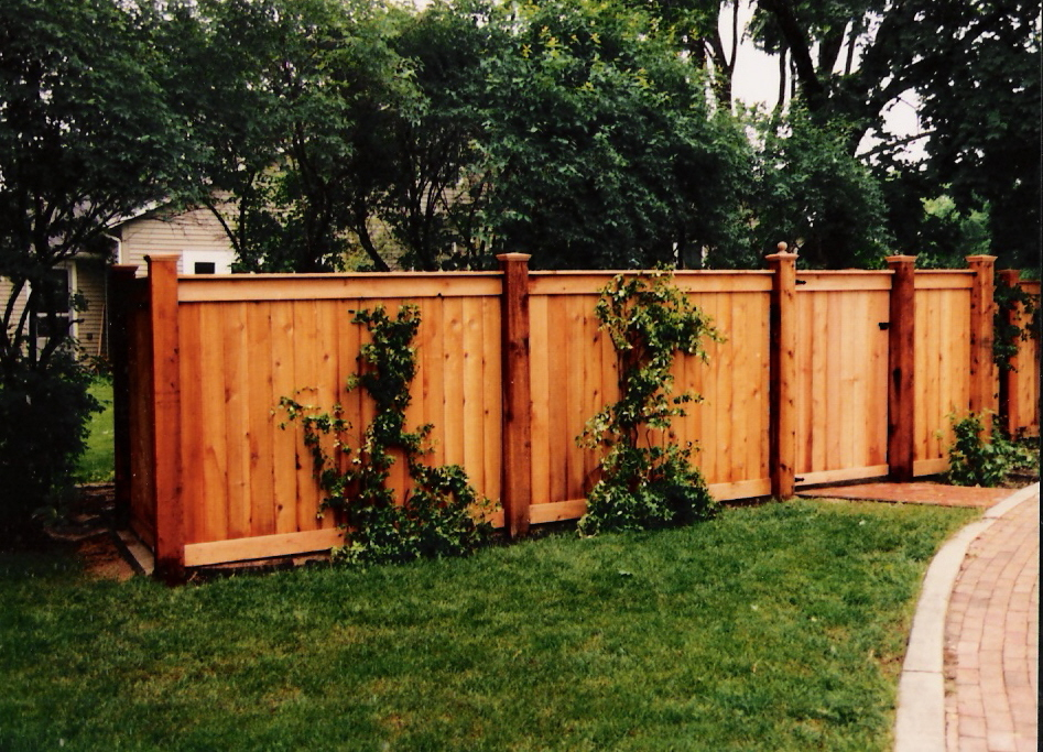 decorative wood fence ideas wood fence ideas tight slat with top and