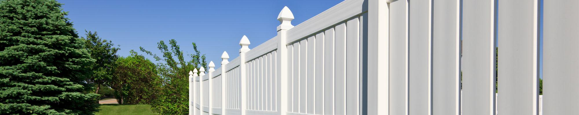 Pvc Vinyl Fences Total Fencingtotal Fencing
