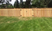 Villa Park Wood Fencing